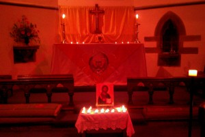 All Souls in church